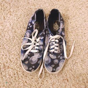 Vans Blue Floral